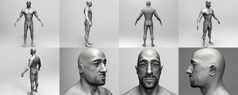 Male Anatomy Study by Krovash on DeviantArt