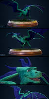 Skye The Dragon Figurine