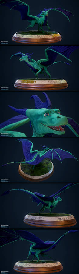 Skye The Dragon Figurine