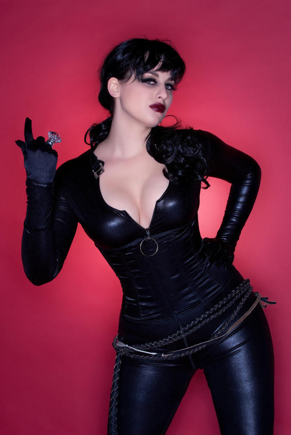 Catwoman Come Hither by Meagan-Marie