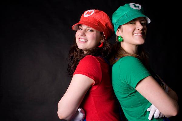 Super Mario Sisters by Meagan-Marie
