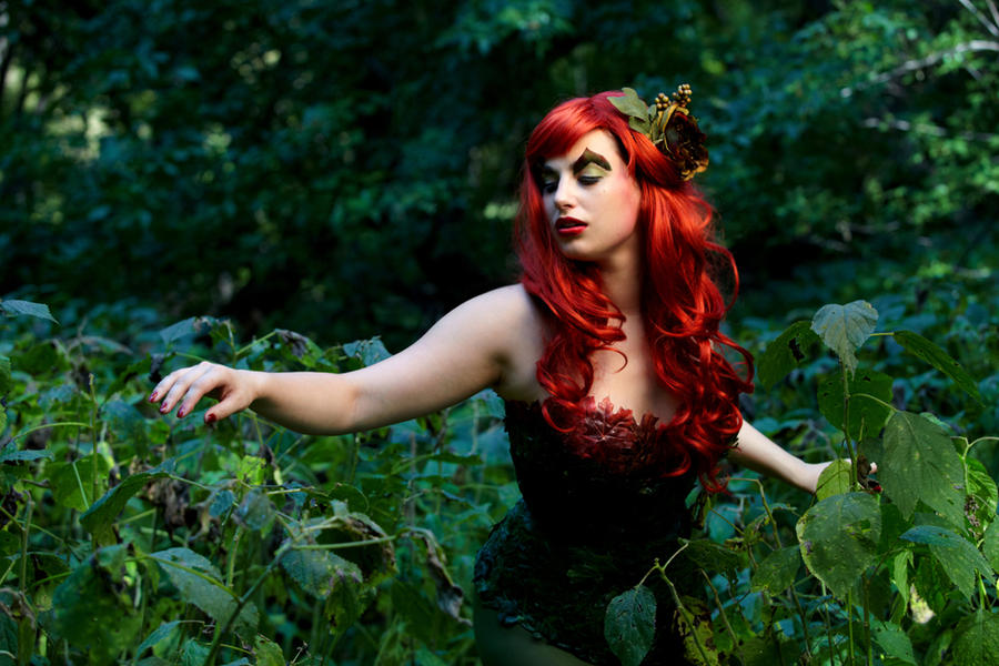 Poison Ivy Cosplay 5 by Meagan-Marie