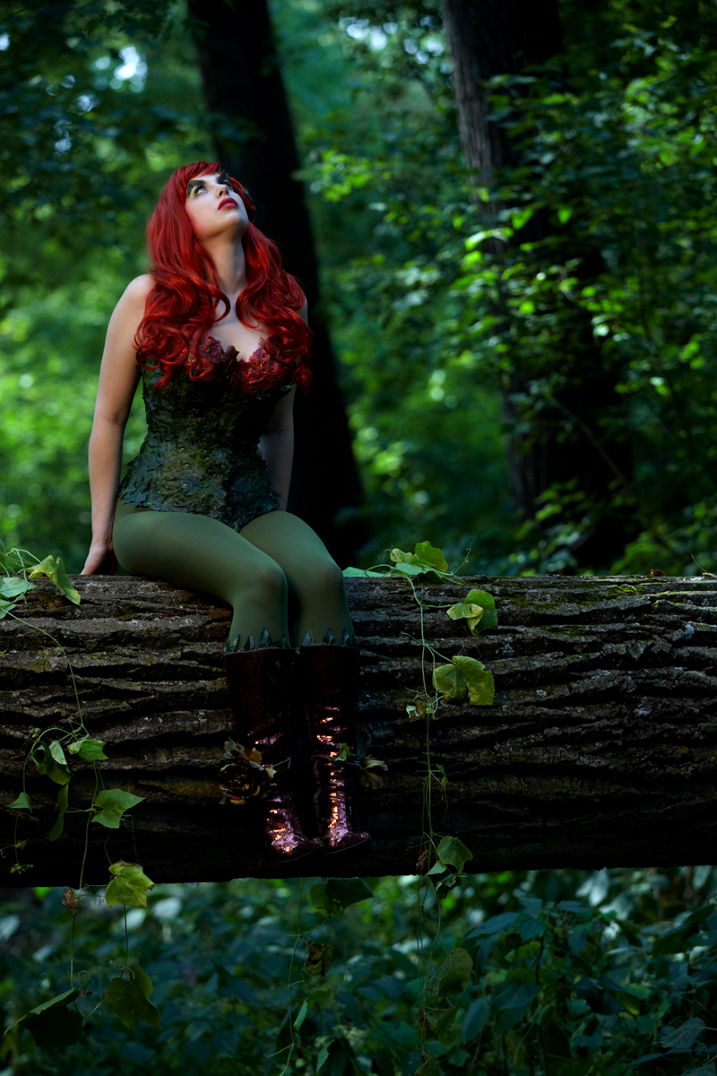 Poison Ivy Cosplay 6 by Meagan-Marie