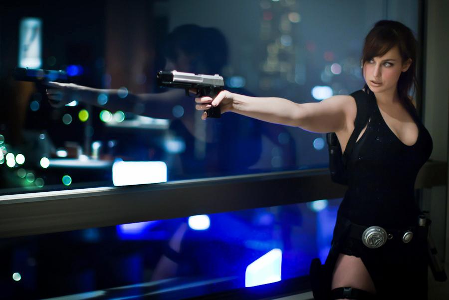 Lara Croft Tokyo Dress 1 by Meagan-Marie