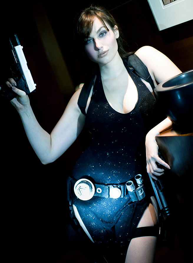 Lara Croft Tokyo Dress 4 by Meagan-Marie