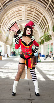 Mad Moxxi Cosplay 1