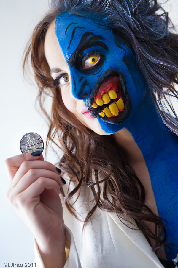 Lady Two Face 3 By Meagan Marie On