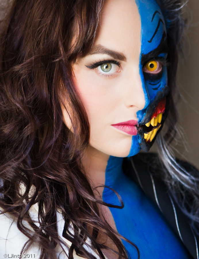 Two Face Harvey Dent: COSPLAY Hotties: Featuring Two-Face, Super Mario, Deadpool
