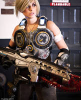 Gears of War Cosplay 1