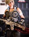 Gears of War Cosplay 1