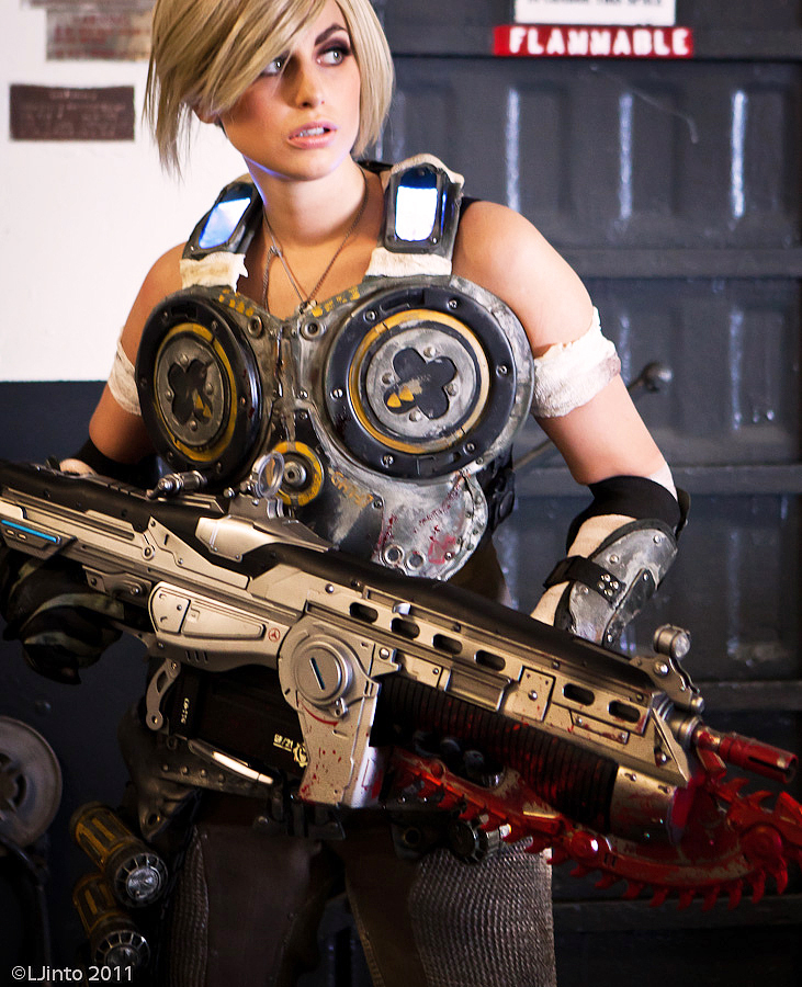 Gears of War Cosplay 1 by Meagan-Marie