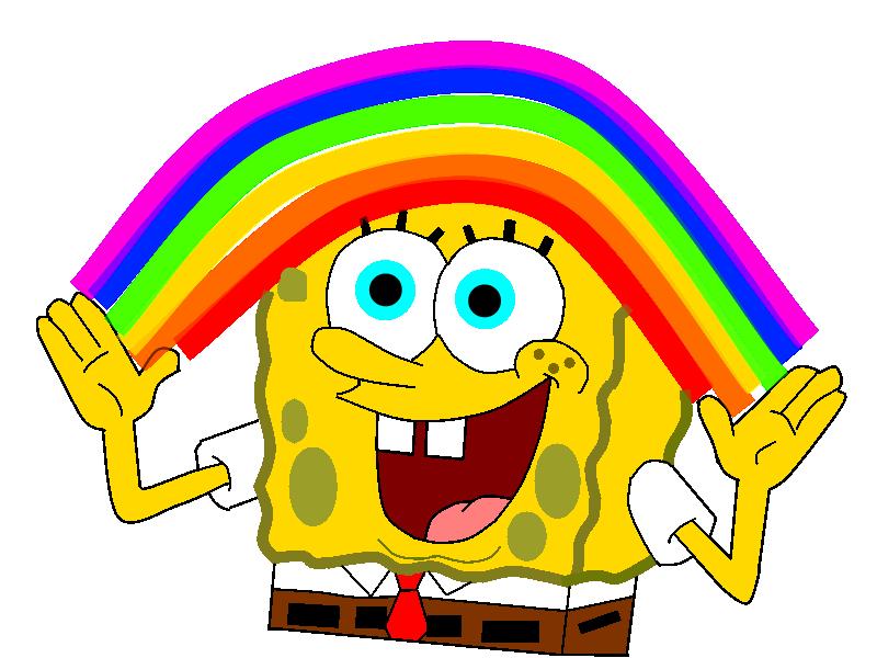 Spongebob Imagination Pictures | www.imgkid.com - The ...