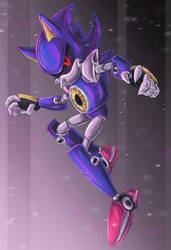 Metal Sonic 2016 by kittoditto