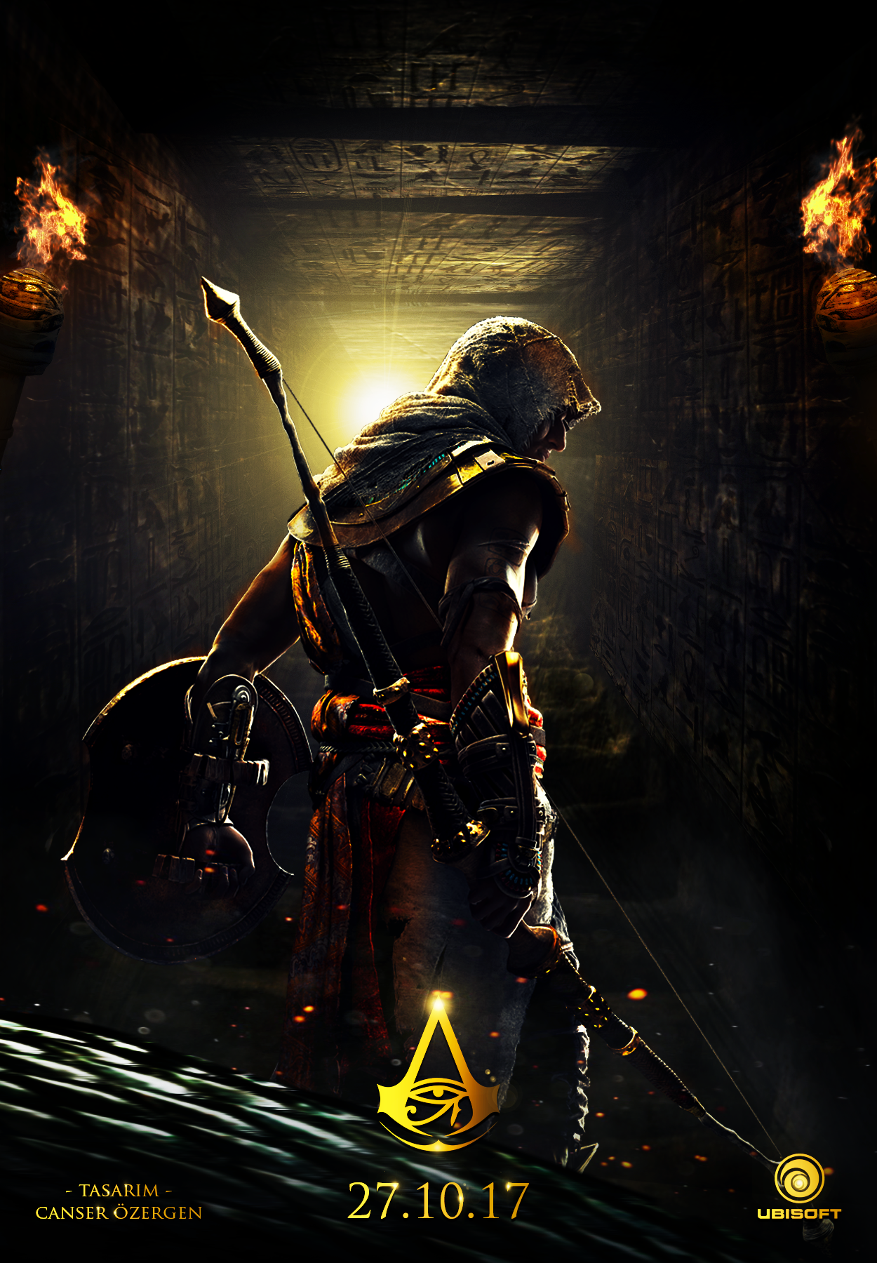 Assassin S Creed Origins Poster Design By Canserm On Deviantart