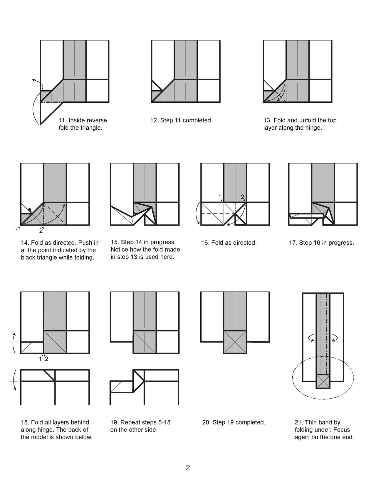 Origami Sword Diagrams Paper Pete Diagram By Cahoonas Scroll 2 Houndread On Deviantart