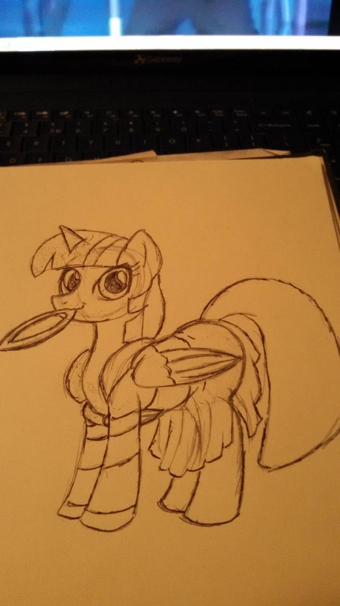 my little pony twilight as Xena warrior princess