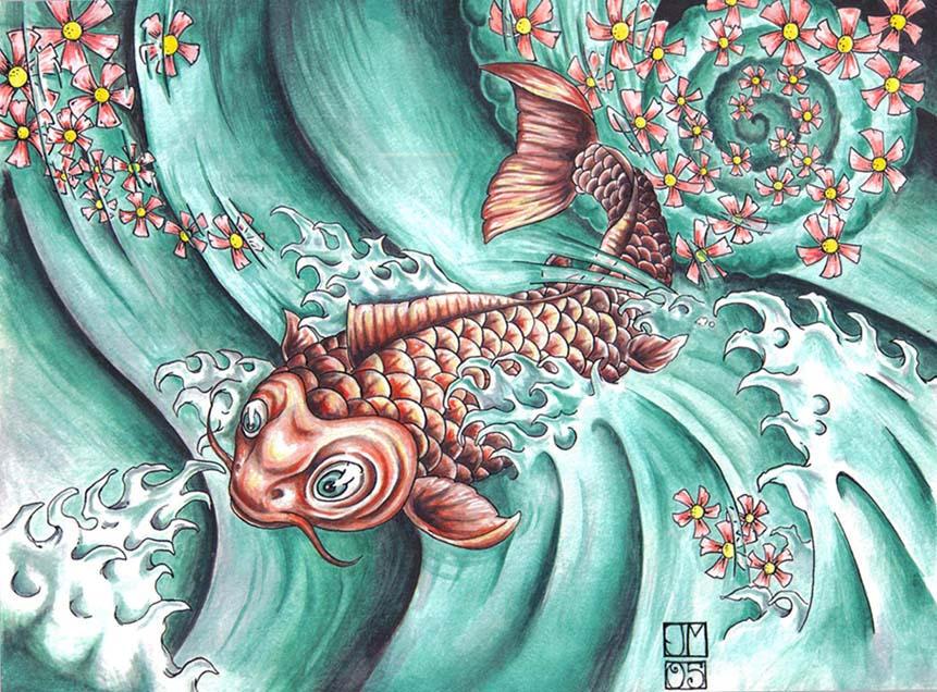 koi fish tattoos