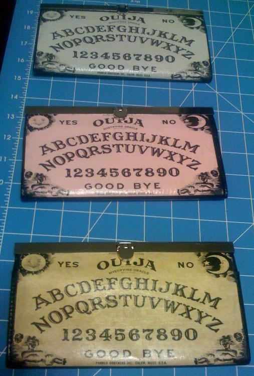 Oiuja Board Wallets by forkboy