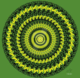 Mandala Art 2021 Feb 7
