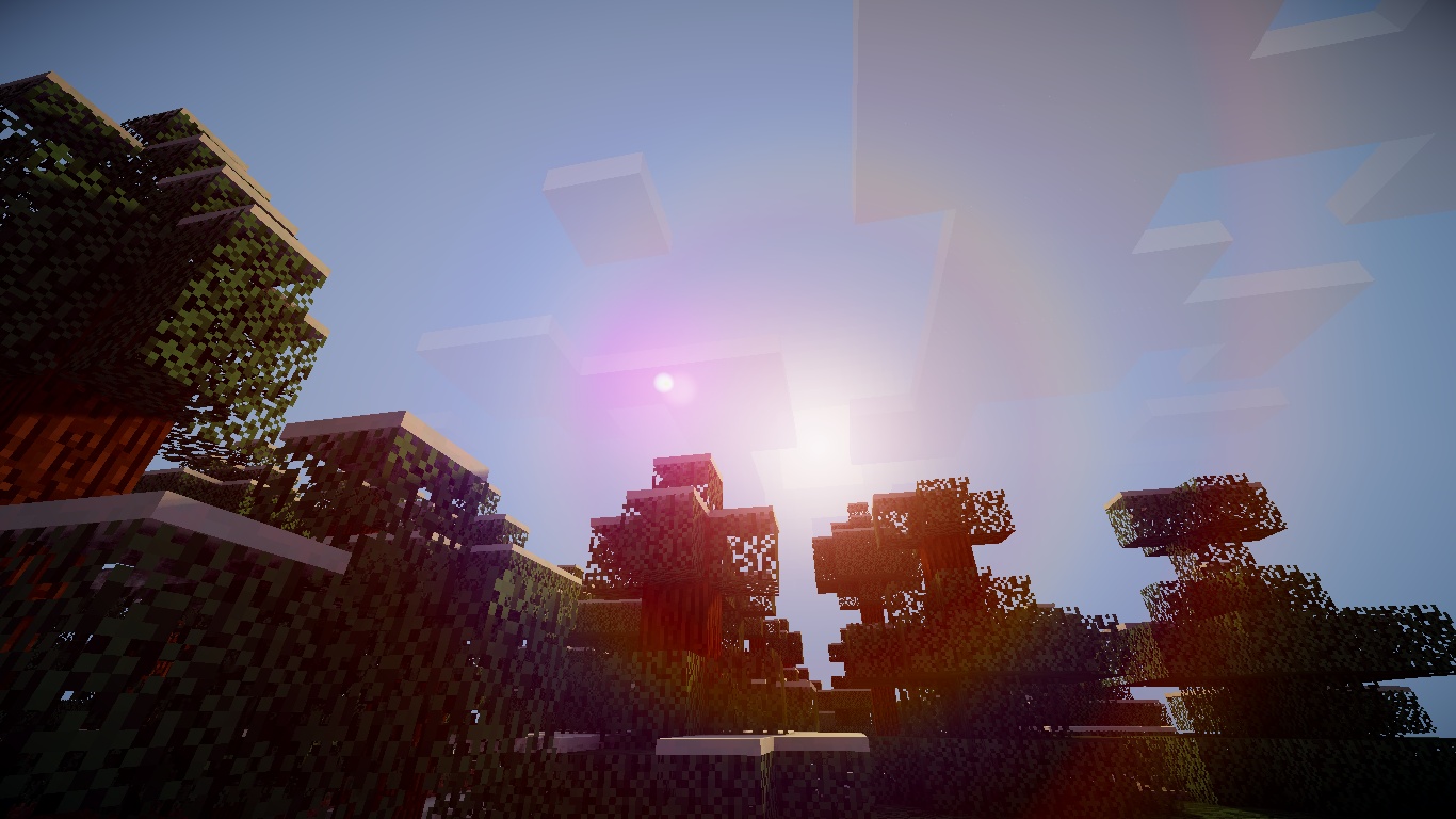 Great Wallpaper Minecraft Christmas - minecraft_shaders_mod_by_kartexa-d6k4ixz  Gallery_43596.png