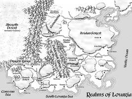 Map of Lovaria by ultorgabrihel