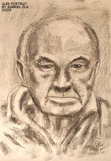 Alex Portrait by ultorgabrihel