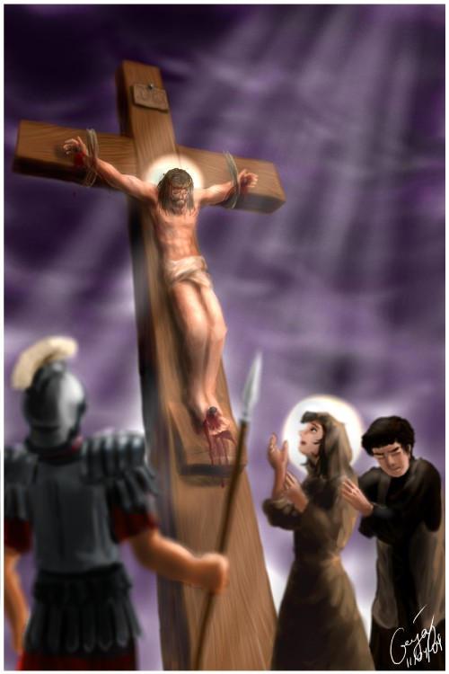 Iesus moritur in cruce by ultorgabrihel
