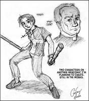 Characters in Progress by ultorgabrihel