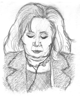 Snoozing lady by ultorgabrihel
