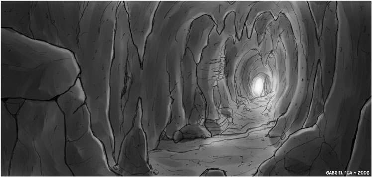 The Caves by ultorgabrihel