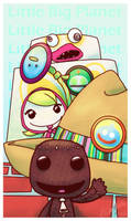 A Colorful Hello from Sackboy