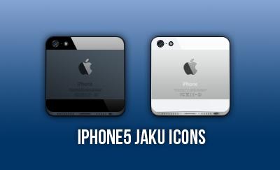 iPhone5 Jaku Icons by andresito85