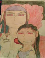 Cartoon Selfie by materialgirl1534