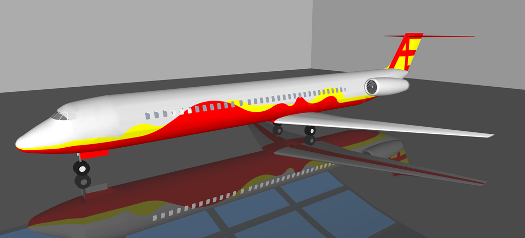 McDonnell Douglas MD-80 by trainguy101
