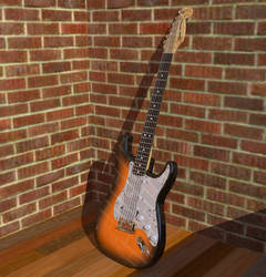 Fender Stratocaster by Roaether