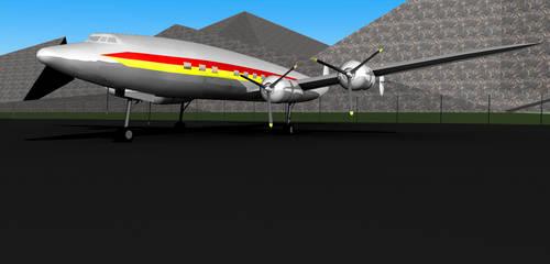 Lockheed Connie by Roaether