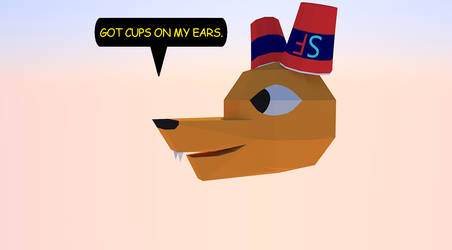 Got 3D cups on my ears. by Roaether