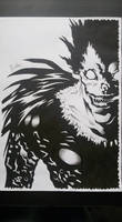 Death Note Ryuk drawing
