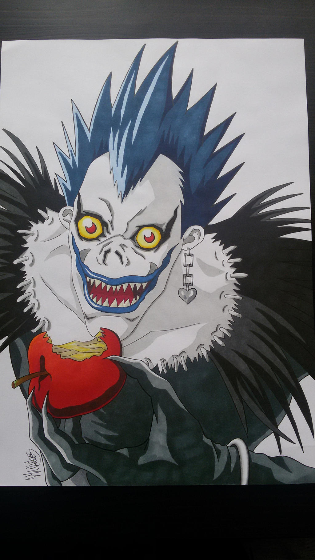 Image Gallery ryuk drawing