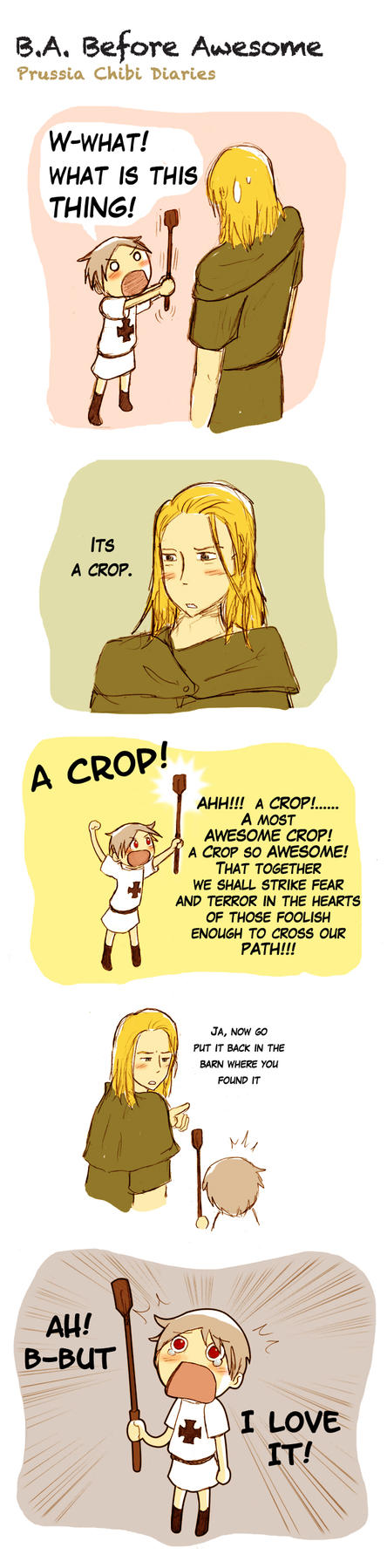 Chibi Prussia Diaries -003- by Arkham-Insanity