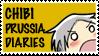 Chibi Prussia Stamp