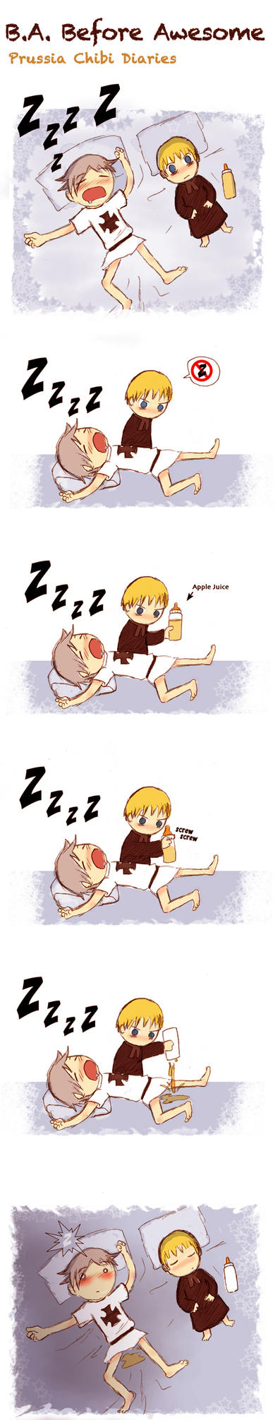 Chibi Prussia Diaries -011- by Arkham-Insanity on DeviantArt