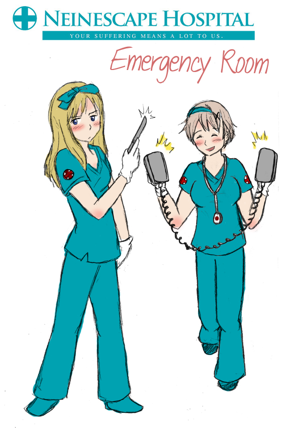 Nurse Knives And Bustier By Arkham Insanity
