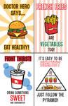 Doctor Heros Un-Healthy Poster