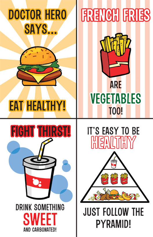 Doctor Heros Un Healthy Poster By Arkham Insanity On