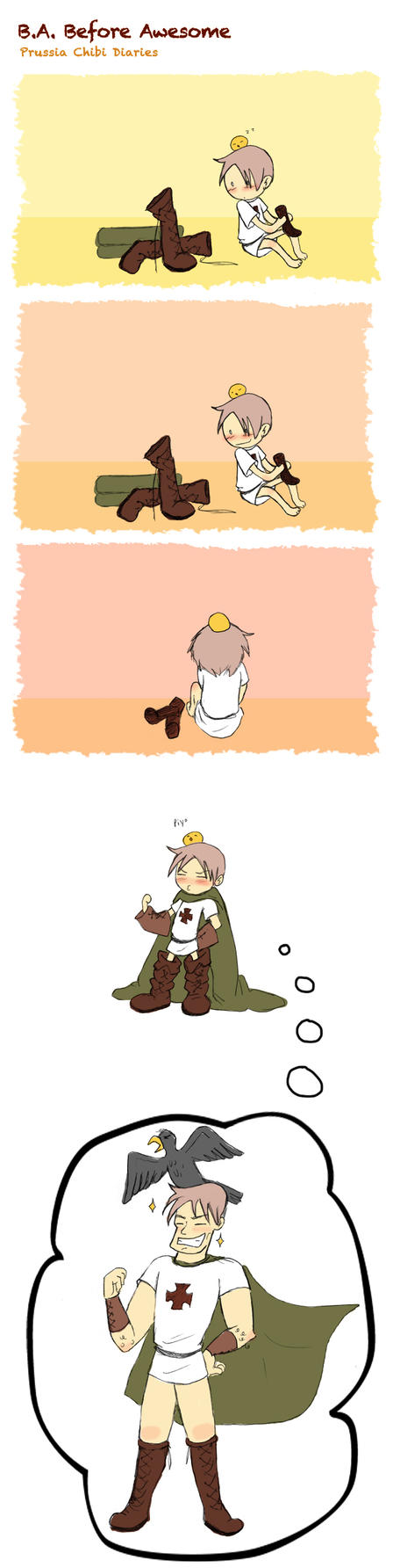 Chibi Prussia Diaries -023- by Arkham-Insanity