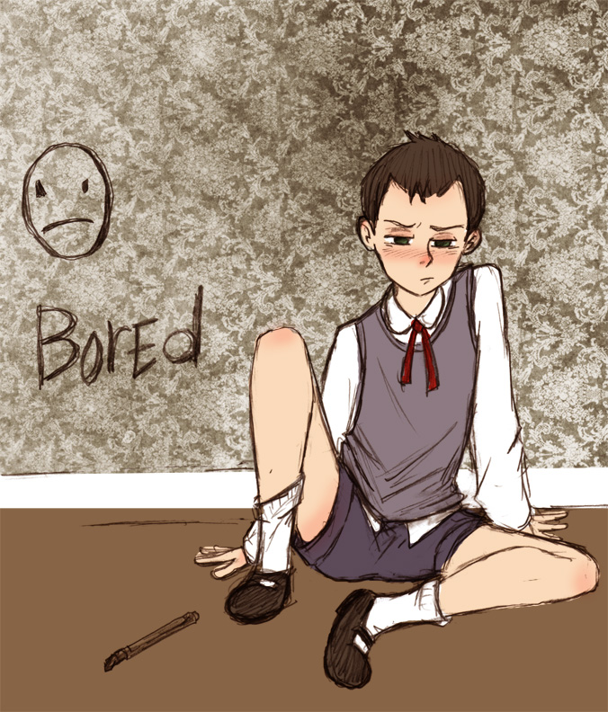 Pouty Young Jim Moriarty by Arkham-Insanity