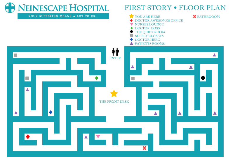 Neinescape Floor Plan by Arkham-Insanity