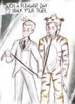Sebastian Moran and Jim Moriarty