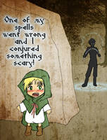 Be careful what you Conjurer! by Arkham-Insanity